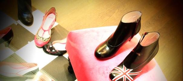Annabel Winship, boutique de chaussures originales, selectionnée par les Nanas d'Paname.
