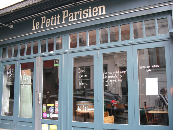 image restaurant le petit parisien