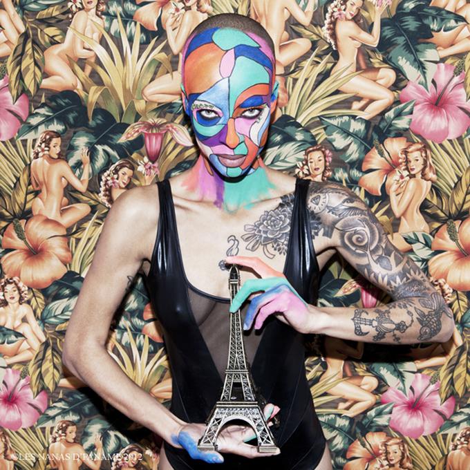 Stéphanie Lambert, photographiée par Les Nanas d'Paname.