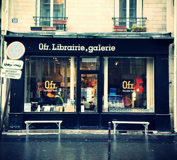 Librairie Ofr, une adresse vivement conseillée par Les Nanas d'Paname.