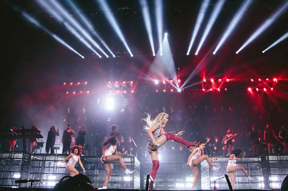 stage danse comme beyonce