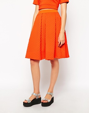 asos Midi skirt by Fashion Union