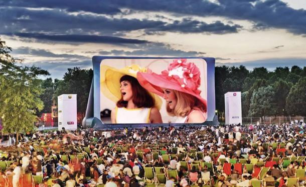 cine plein air villette