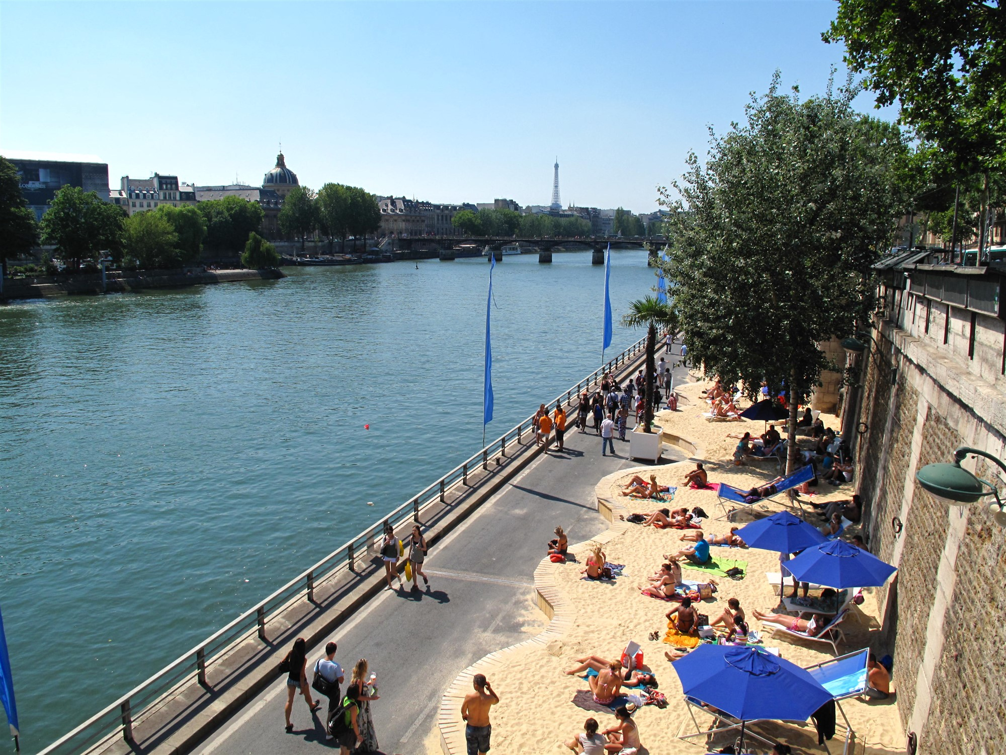 Paris_Plages_from_Bridge
