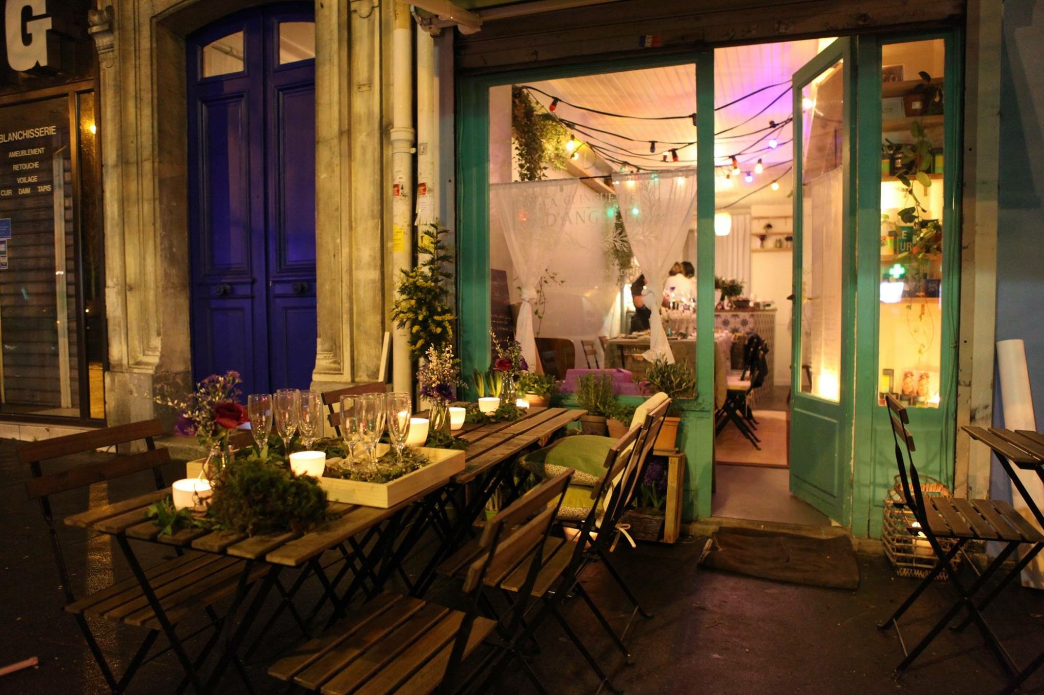 La Guinguette d'Angèle – Le salon de thé du 11ème arrondissement
