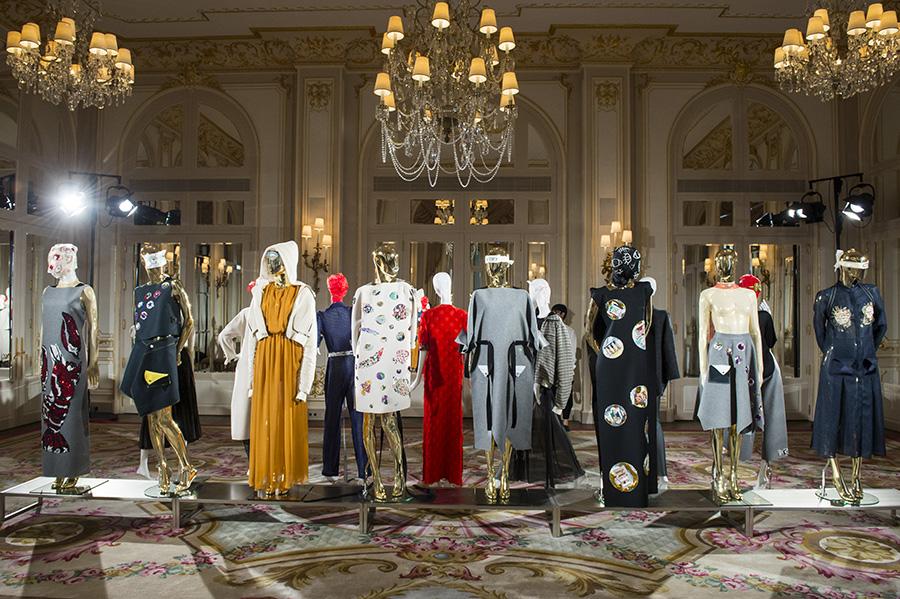 Pixelformula Haute Couture ready to wear prêt a porter summer 2017 Le Monde de Nico